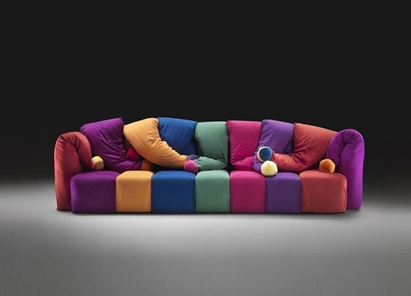 Divani colorati, Design e praticità - Design Italia