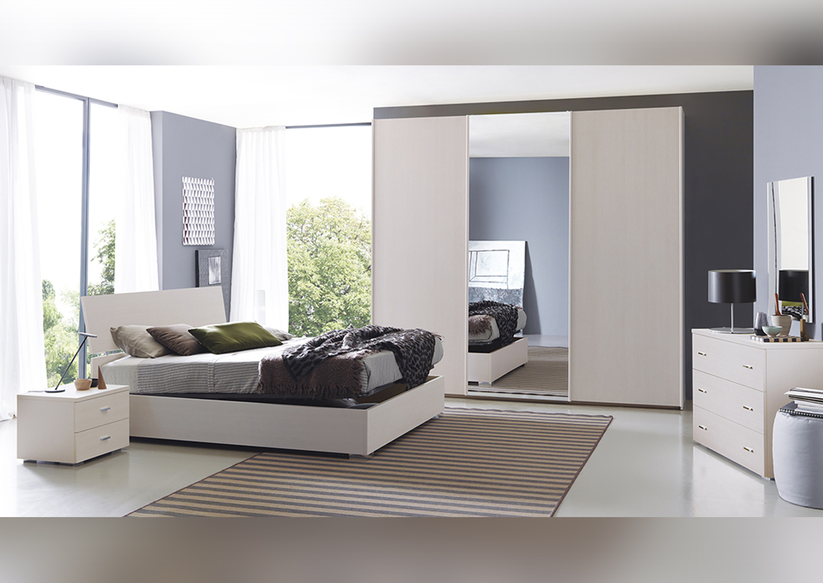 Come arredare la camera da letto matrimoniale design italia - Camera da letto 3x4 ...