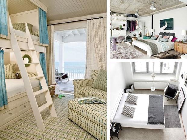 Lo sfruttamento degli spazi ragionare in tre dimensioni - Idee per arredare camera da letto piccola ...