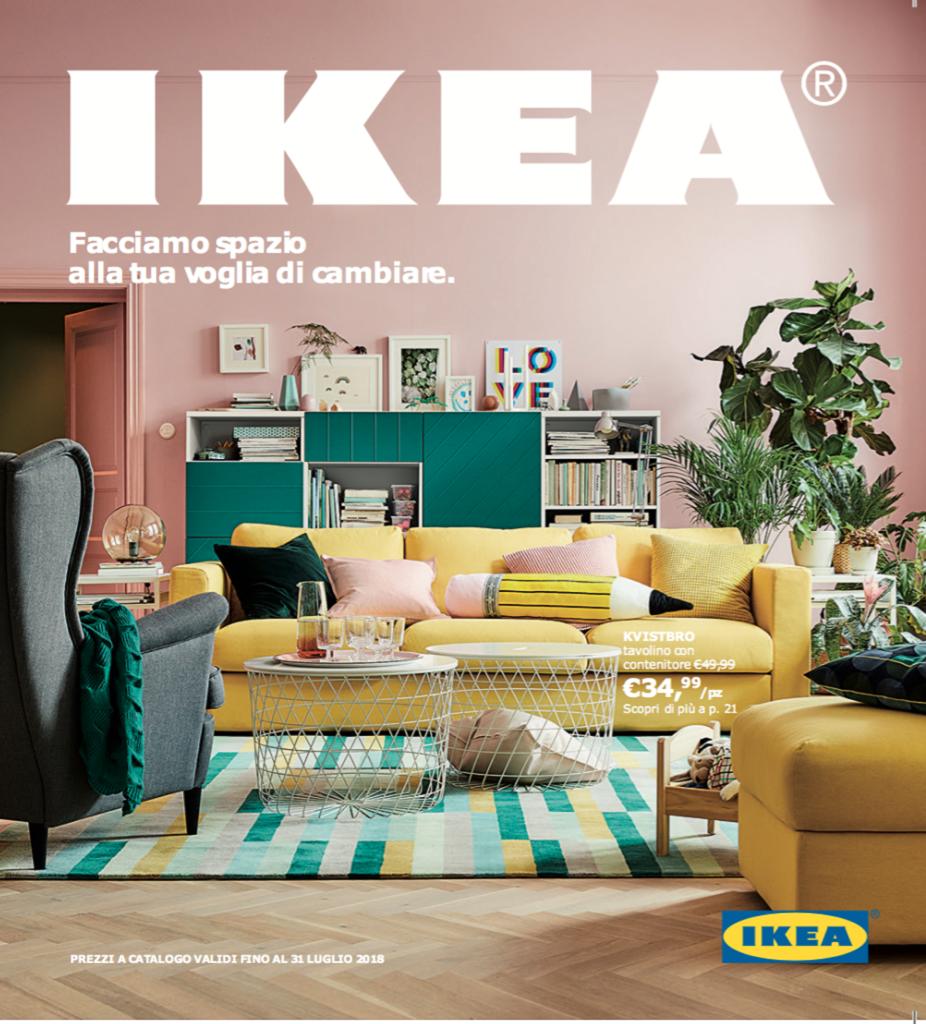 In uscita il nuovo catalogo ikea 2018 design italia - Catalogo ikea 2015 italia ...