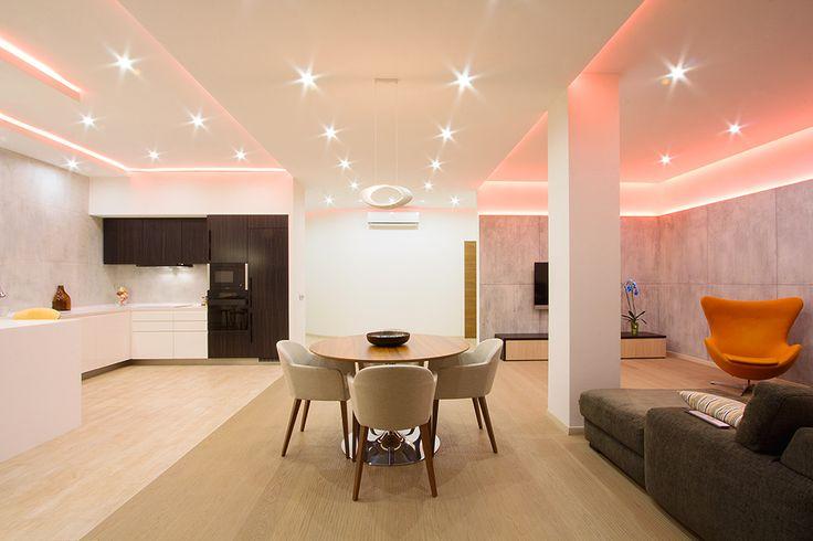La giusta illuminazione in casa design italia
