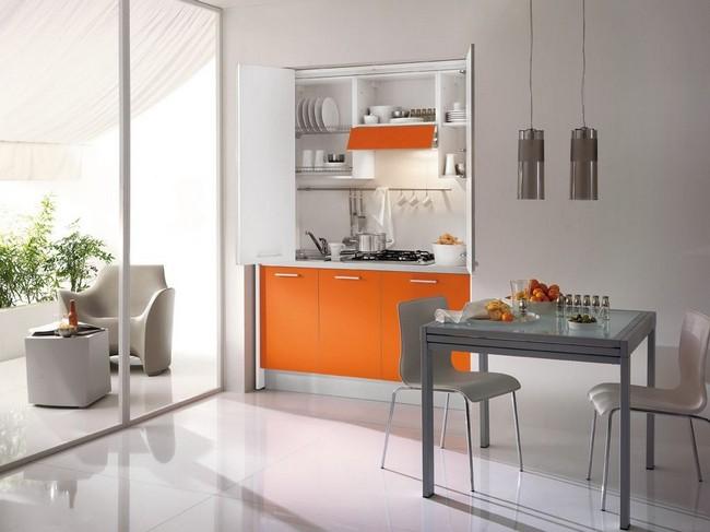Cucine a scomparsa: soluzione ideale per una casa piccolina - Design ...