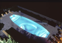 illuminare piscina