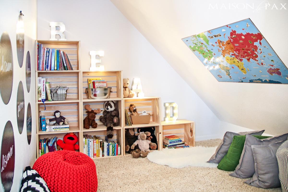 Come Allestire Una Libreria come creare una perfetta stanza dei giochi - design italia